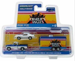 2018 Johnny Lightning *TRUCK /& TRAILER 1A* 2004 Ford F-250 w//CAR TRAILER *NIP*