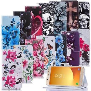 Handy-Tasche-fuer-Samsung-Galaxy-Schutz-Huelle-Motiv-Flip-Cover-Mobile-Case-Etui