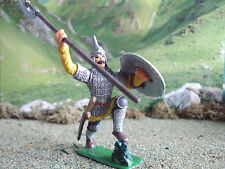 Supreme Medieval Russian knight with spear 60mm painted