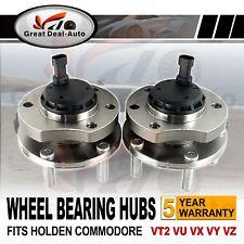 Front Wheel Bearing Hubs Hub for Holden Commodore VT2 VX VU VY VZ V6 V8 ABS PAIR
