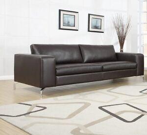 Madison Sofa 3er Couch Wohnlandschaft Garnitur Wohnzimmer Kunstleder