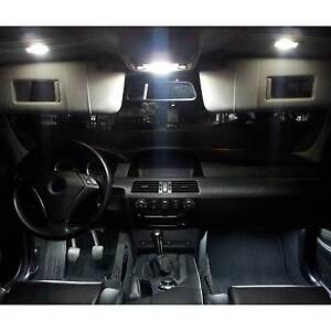 Innenraumbeleuchtung Innenbeleuchtung AUDI A4 Avant B7 set mit 16 Lampen Weiß