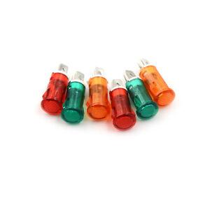 10PCS-Signal-Lamp-10mm-Red-Green-Yellow-LED-Lamp-Indicator-Light-12V-24V-220V-3C