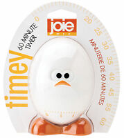 Joie 60 Minute Timey Egg Shaped Kitchen Timer W/ Face Baking Cooking Project on sale