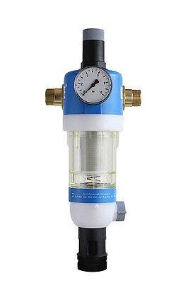 DN 20 mit Druckminderer Honeywell Rückspülfilter Primus FKN74C 3//4 Zoll