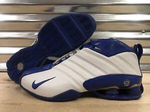 89d34b89eaeb96 White And Royal Blue Nike Shox Women Nike Shox For Sale