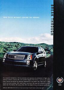 V6 Blue Vintage Advertisement Ad A19-B 2006 Cadillac SRX