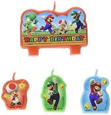 4 BirthdayExpress Super Mario Party Supplies Empty Favor Boxes Birthday Express AX-AY-ABHI-79096