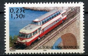 STAMP-TIMBRE-FRANCE-NEUF-N-3413-CHEMIN-DE-FER-TRAIN-AUTORAIL-PANORAMIQUE