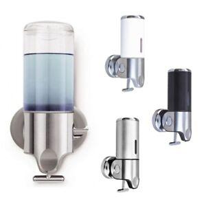 Soap Dispenser Wall Mounted Liquid Hand Wash Shower Gel Pump Toilet