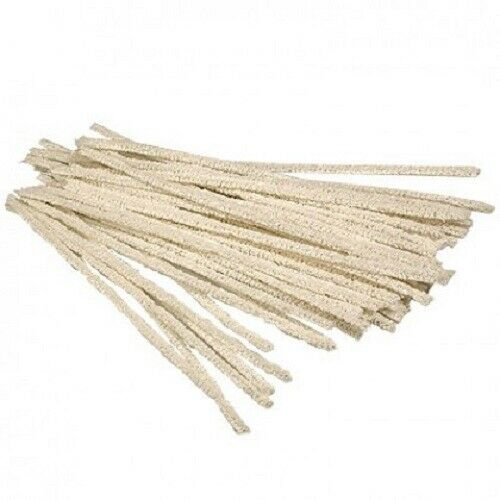 """6/"""" Soft Cotton Tobacco Pipe Stem Cleaner 100 Pack Soft Cotton Pipe Cleaner"""