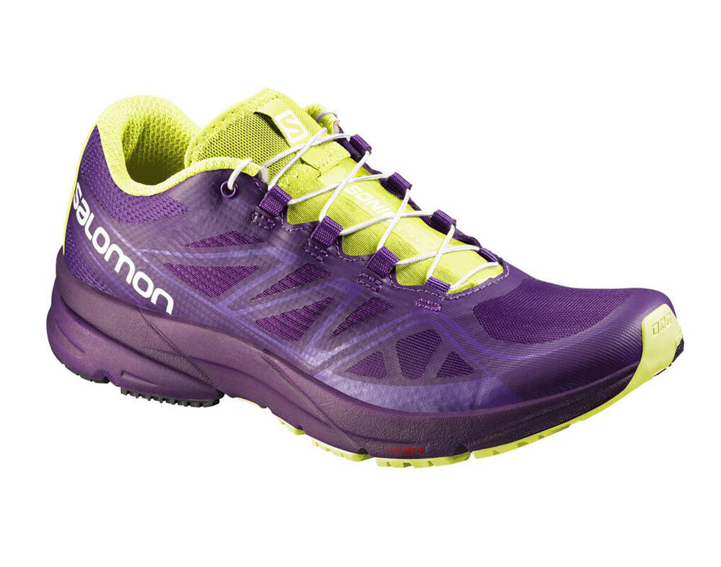 Running shoes Salomon Sonic-Pro W,Profeel,Energy Cell,contagrip,379173,Purple
