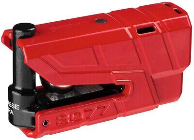 Bloccadisco Abus Granit Detecto X-plus 8077 Con Allarme Sonor Rosso Per A Prilia