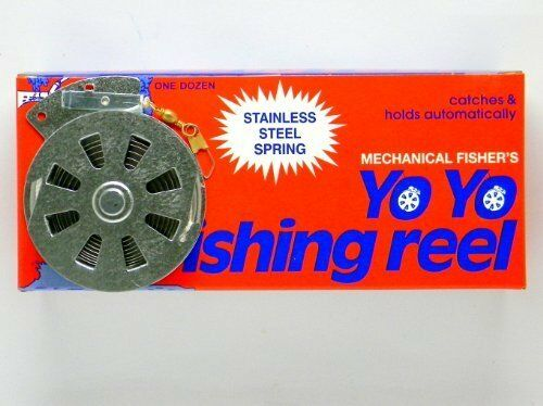12 Mechanical Fisher's Yo Fishing Reels  (Flat Trigger Model)  new products novelty items