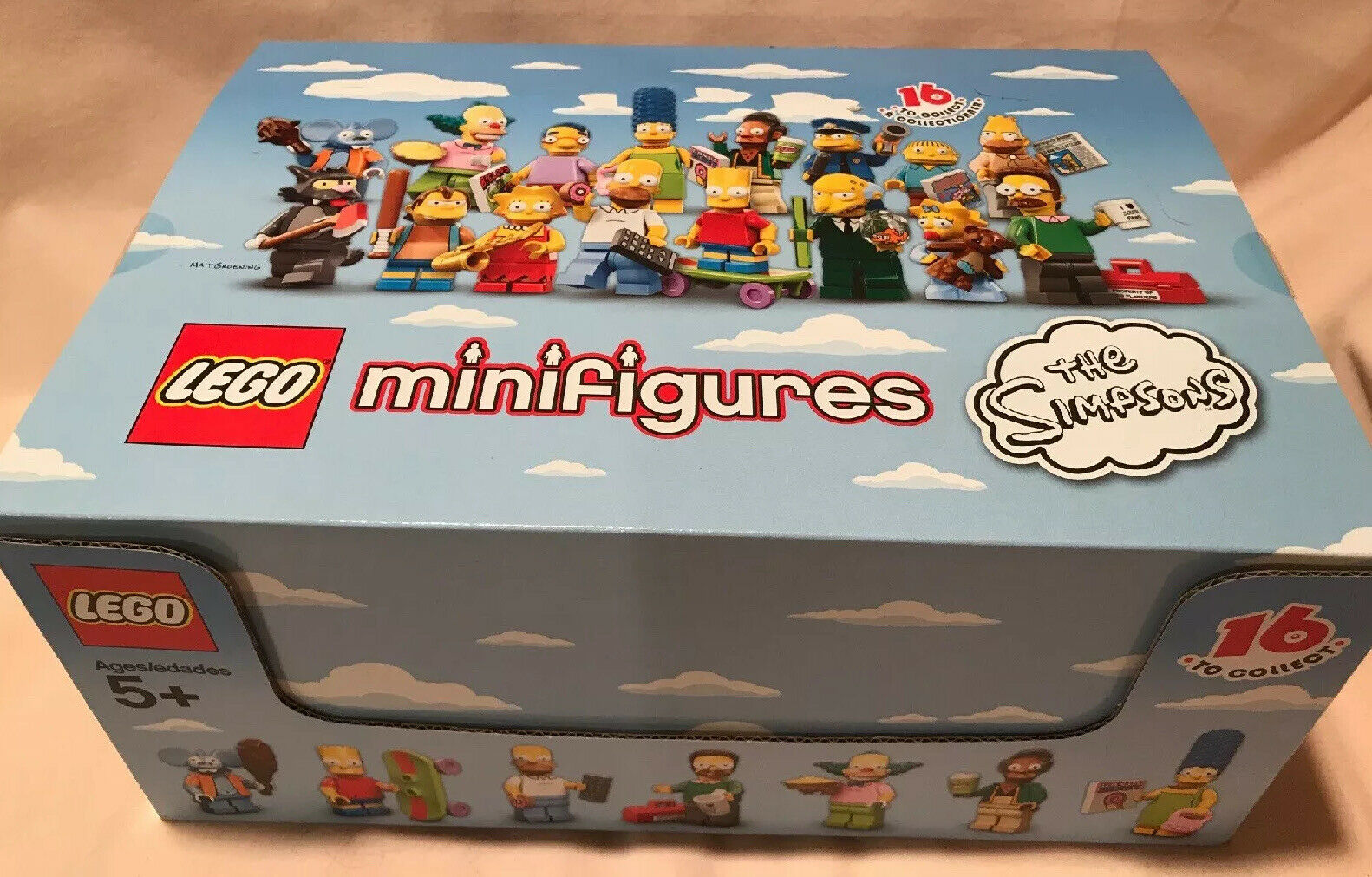 Lego Case 71005 Case Of 60 Minifigures Series 1 The Simpsons