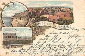 Heiligenhafen Germany Scenic View Gruss aus Antique Postcard J60145