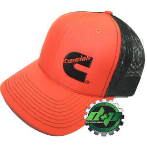bab1453b74b Image is loading Dodge-Cummins-trucker-hat-ball-mesh-richardson-orange-