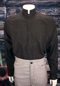 FRONTIER CLASSICS Black Dodge City Shirt SASS COWBOY Dickens Steampunk