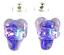 DICHROIC-Post-EARRINGS-HEART-amp-Cross-Moonstone-Blue-Purple-Pink-GLASS-STUDS thumbnail 1