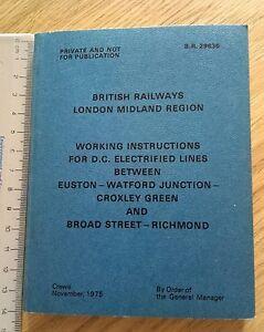 British-Rail-London-Midland-DC-electrified-lines-Euston-Croxley-Green-Richmond