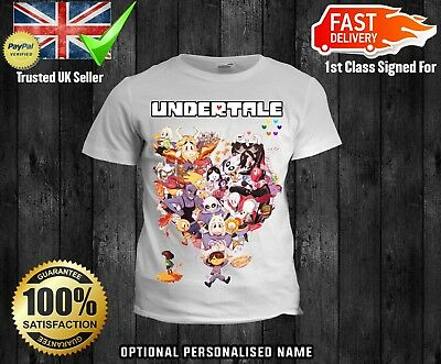 Obedient Kids Undertale Cartoon Boys Girls Christmas T Shirt Tshirt Xmas Game To Clear Out Annoyance And Quench Thirst Boys' Clothing (2-16 Years) Clothes, Shoes & Accessories