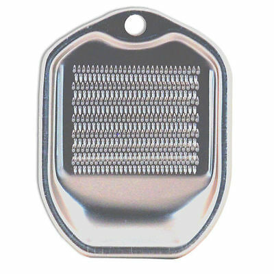 "Japanese 4"" x 3"" Aluminum Ginger Grater ONI OROSHI Kitchen Gadget, Made in Japan"