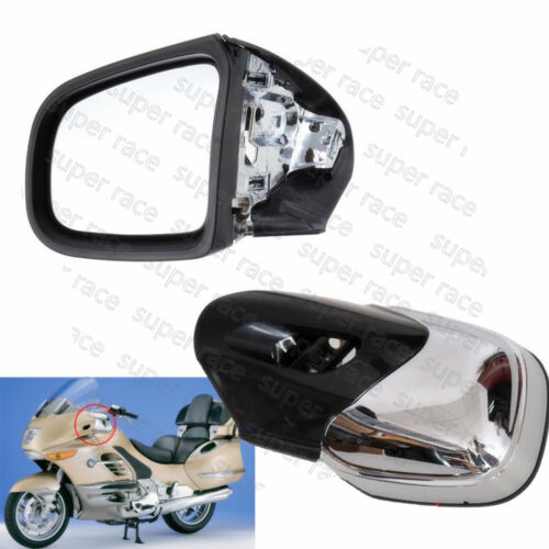 1x Pair Rearview Side Mirrors Left /& Right Set For BMW K1200LT 1999-2008 Chrome