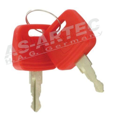 C-997 2 Schlüssel Zündschlüssel für John Deere 6000 Serie Vergl.Nr R183935