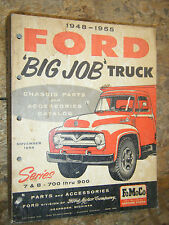 1948-53 FORD BIG JOB TRUCK 7 8 700-900 FACTORY PARTS ACCESSORIES MANUAL CATALOG