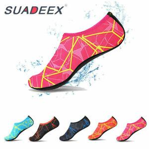 Para-mujeres-Zapatos-de-agua-AQUA-Calcetines-Playa-Natacion-Traje-Zapatos-Antideslizante-tamano-de