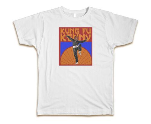 Kung Fu Kenny Kendrick Lamar Custom Mens T-Shirt Tee S-3XL New-White