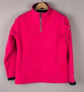 Gaastra Damen Freizeit Reißverschluss Fleece Pullover Sweatshirt Größe M BCZ475