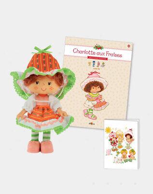 Amandine Strawberry Shortcake Scented Doll 14cm  Charlotte Fraises .