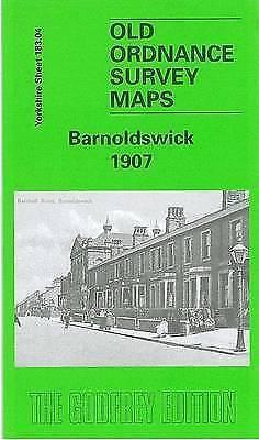 OLD ORDNANCE SURVEY MAP Barnoldswick 1907: Yorkshire Sheet 183.04