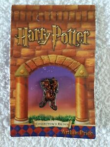 Harry Potter Fluffy Pin Badge Arthur Price Now Rare And Retired