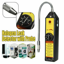 Tickas Refrigeration Gas Leak Detector,Refrigeration Gas Leak Detector Freon Leak Tester Portable Halogen Leakage Detector Checker with High Sensitivity for Car Air Conditioner