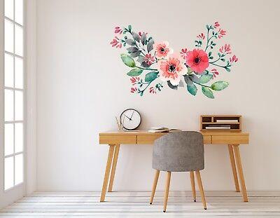 3D Big Flower 9535 Wallpaper Murals Floor Wall Print Decal Wall Sticker AU