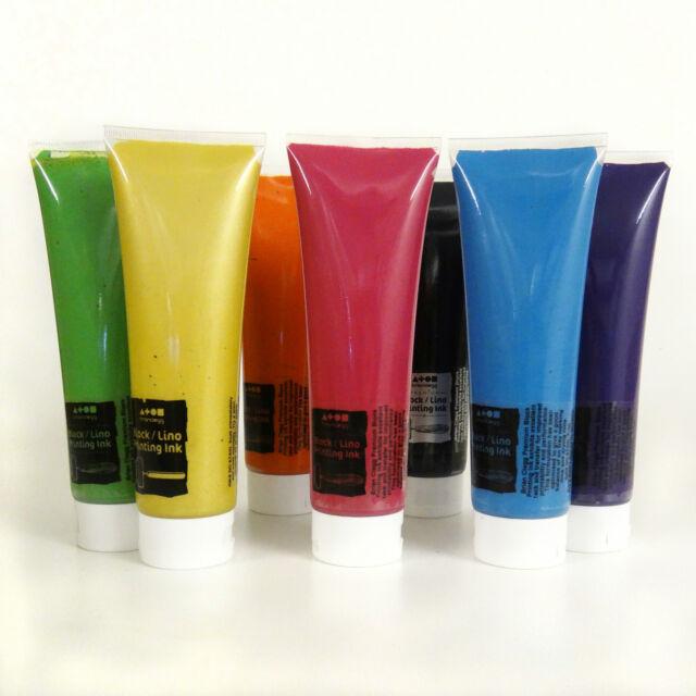 Brian Clegg Premium Waterbased Block Printing Ink - 300ml choose colour - lino