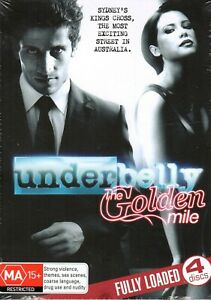 UNDERBELLY-The-Golden-Mile-DVD-R4-2010-Fully-loaded-4-DISC-SET-NEW-amp-SEALED