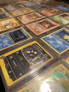 15-VINTAGE-WOTC-HOLO-POKEMON-CARDS-PACK-Pokemon-Original-Sets-Lot-WOTC