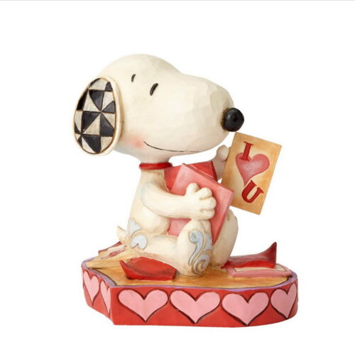 THE PEANUTS Skulptur SNOOPY PUPPY LOVE Enesco Jim Shore Figur 4055652