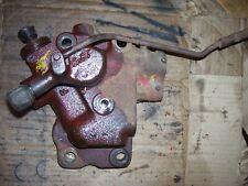 Vintage Fordson Super Major Tractor Hydraulic Remote Valve Parts Or Rebuild