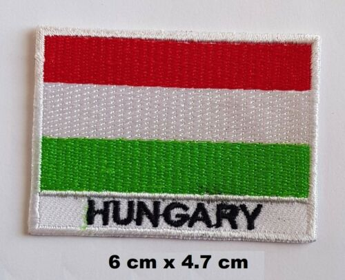 Hungary Hungarian National Country Flag Embroidered Patch// Badge// Logo