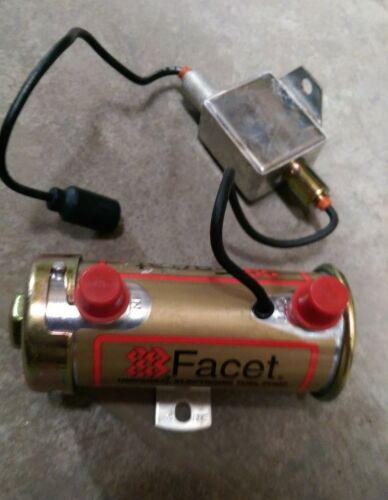 Facet Cylindrical Solid State 24v Electric Fuel Pump 40128E FMTV LMTV Military