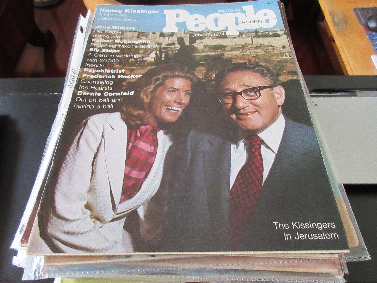 The Kissingers in Jerusalem , People Weekly , June 10,1