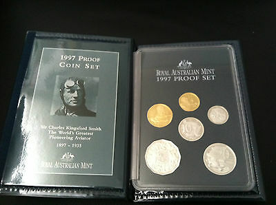 1997 RAM KINGSFORD SMITH  6 COIN PROOF SET