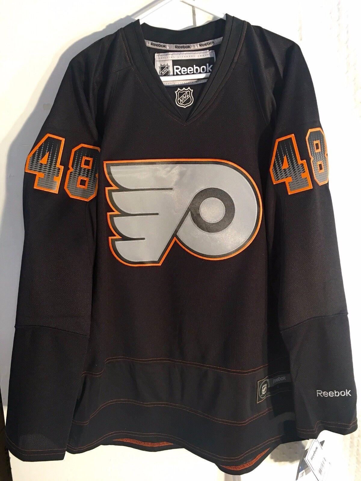 ffb52c8a6 Reebok Daniel Briere Philadelphia Flyers Accelerator Premier Jersey ...