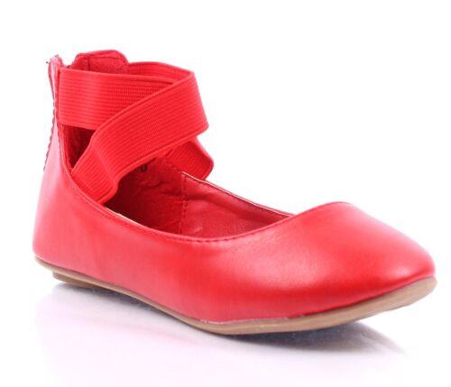 5 Color Back Zip Dress Glitter Kids Ballet Flats Girls Flats Youth Casual Shoes