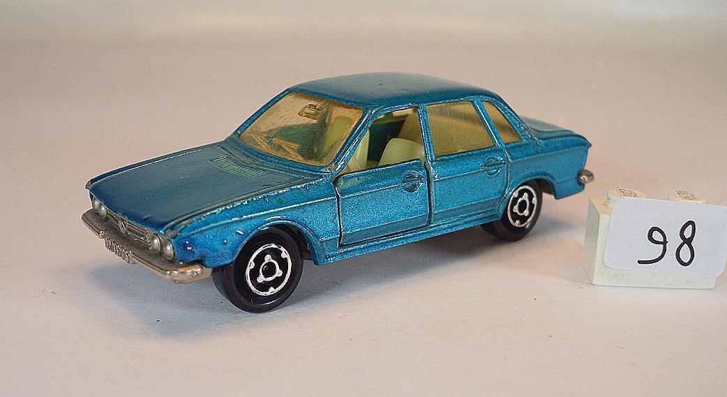 Majorette 1 60 Nr. 210 VW Volkswagen K70 Limousine hellblaumetallic  098