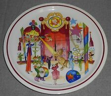 Villeroy & Boch LE CIRQUE #3 LA PISTE Wall Hanging Plate LUXEMBOURG